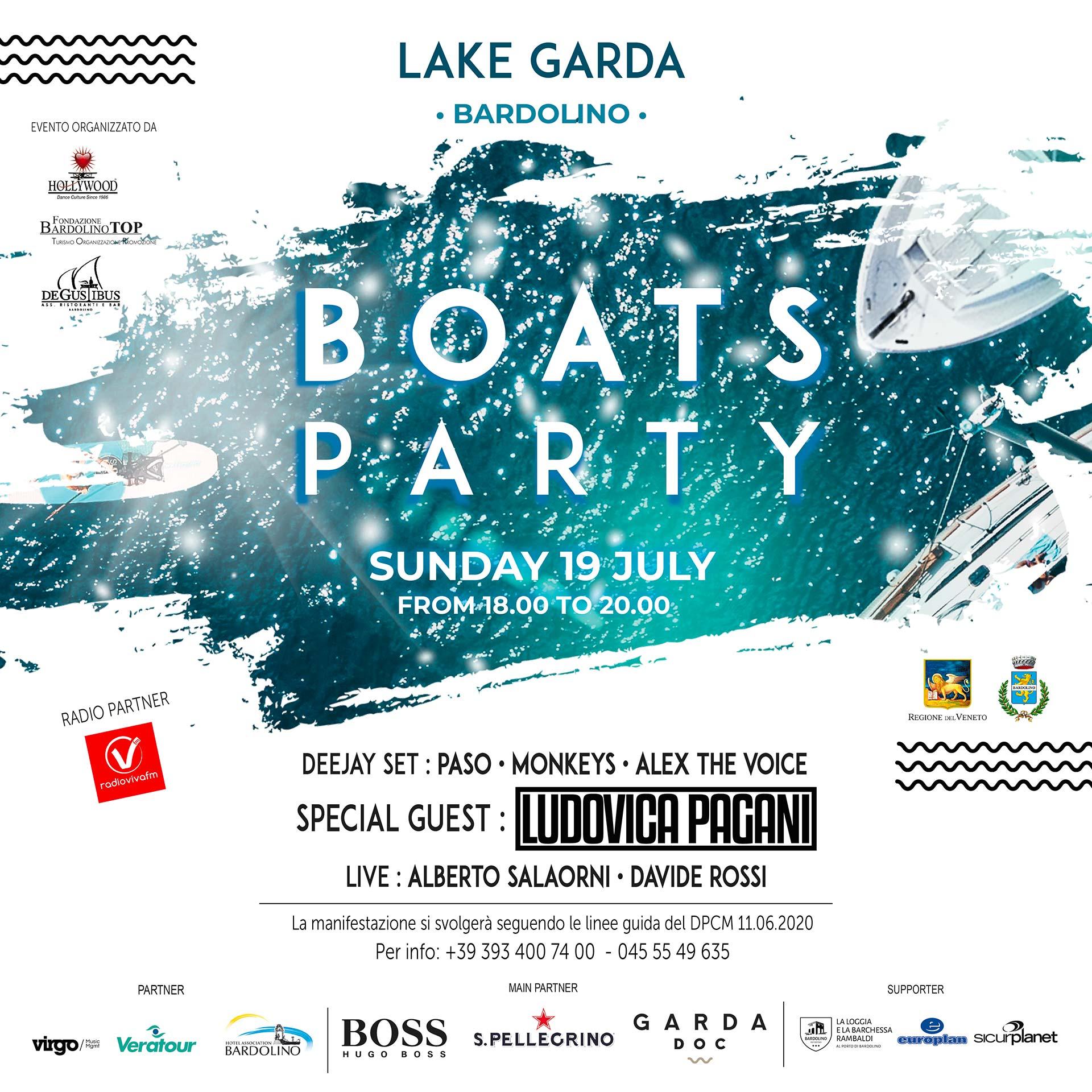 Boats party Garda Doc 19 luglio 2020
