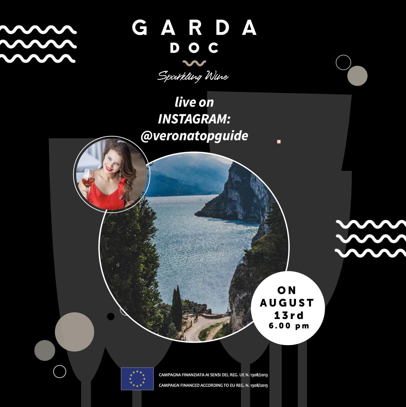 Garda doc live su instagram @veronatopguide 13 agosto 6.00 pm