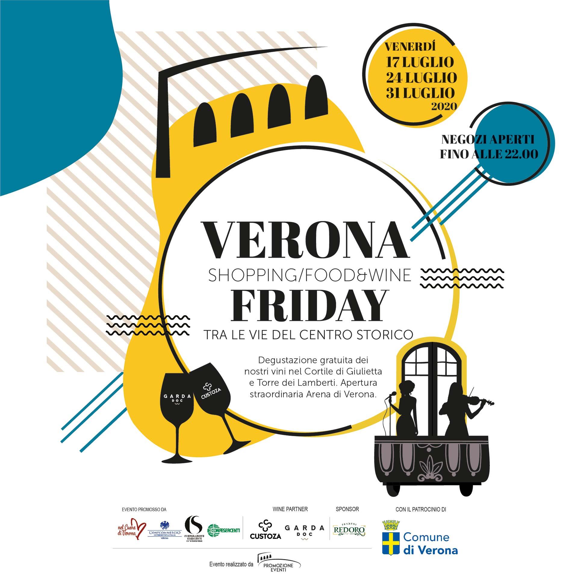 Garda doc per Verona Shopping Friday