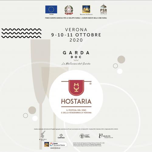 9-11 ottobre Garda doc ad Hostaria, il festival del vino e della vendemmia di Verona 2020